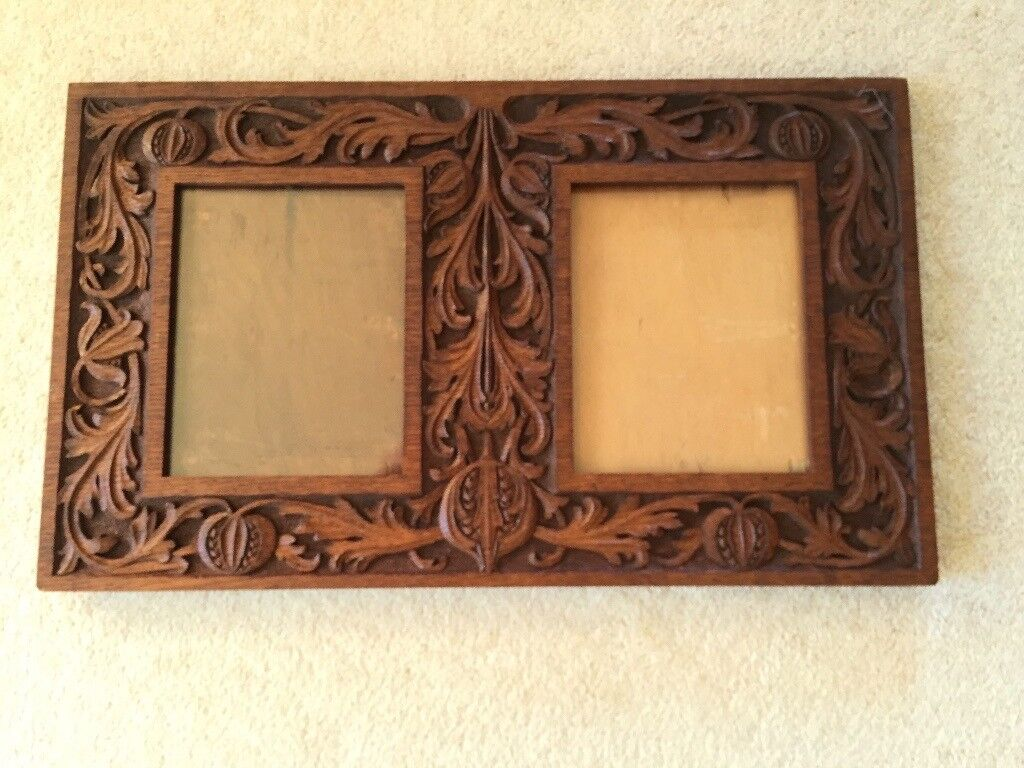 Carved wooden picture frames in cambridge cambridgeshire gumtree carved wooden picture frames jeuxipadfo Image collections