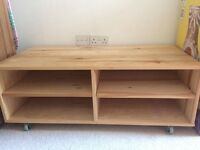 Wooden tv stand FREE, pick up only