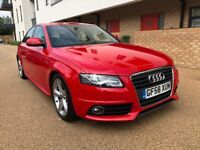 Audi A4 2.0 TDI S Line B8 new shape 2008 58 plate FSH Long MOT Mint ConditionPX Welcome