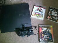 PS3 CONSOLE AND GAMES!!