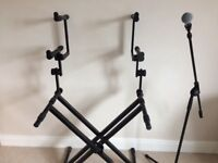 3 tier stage piano/keyboard stand