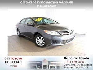 2013 Toyota Corolla RETOUR DE LOCATION, SEULEMENT 20452KM