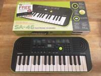 Casio SA-46 keyboard, New condition in box!