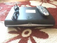 SKY HD SLIM LINE BOX WITH REMOTE