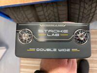 Odyssey Stroke Lab Black Double Wide Putter - NEW