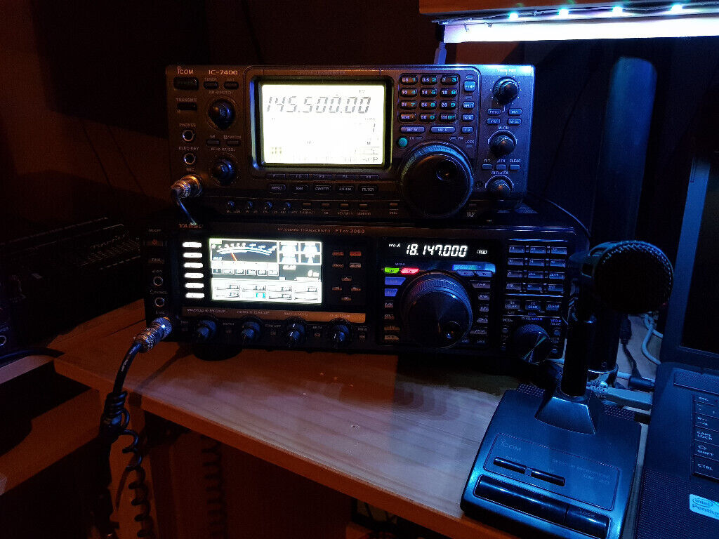 Icom IC-7400 with SM-20 desk mic | in Craigavon, County Armagh | Gumtree