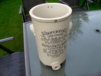 Victorian Stoneware water filter Doulton's No2 manganous carbon filter Lambeth London
