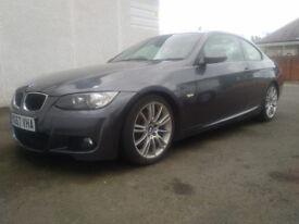 2007 BMW 320d M Sport Coupe 130kW grey 97700miles