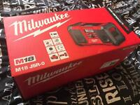 Milwaukee Job Site Radio Brand New!!