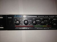 Alesis 3630 1U rack mount compressor for sale