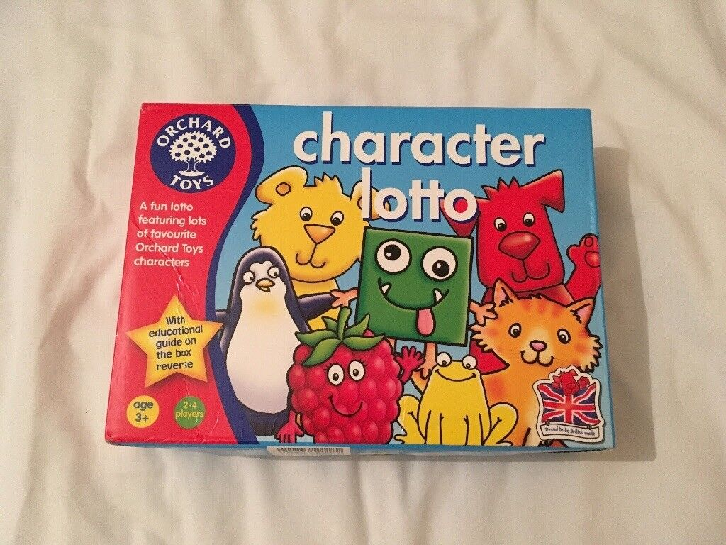 Character Lotto as new