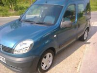 RENAULT KANGOO AUTHENTIQUE 1.2 PETROL 09 REG. LOW MILEAGE