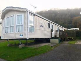 3 Bed Caravan with Decking, Parking and Sea Views!