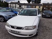 Vauxhall vectra sxi 1800cc white long mot £275 no offers