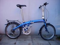 Compact Folding /Commuter Bike by Dahon, Light Aluminium Frame, JUST SERVICED / CHEAP PRICE!!!!!!!!!