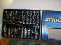 COMPLETE BOXED STAR WARS CHESS SET
