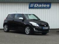 Suzuki Swift 1.2 SZ-L 3Dr Hatchback (black/white a1q) 2014
