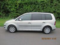 Volkswagen Touran 1.6 S 5dr (7 Seats) - PETROL - Manuel - 166,879 miles