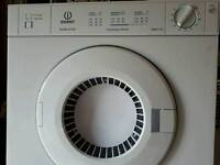 Vented tumble dryer.