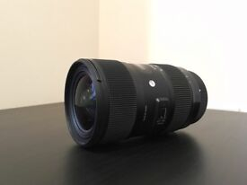 Sigma 18-35mm f/1.8 Art Lens for Canon (includes Sigma USB Dock)