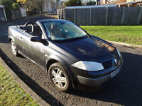 RENAULT MEGANE CONVERTIBLE 1.6 CABRIO NOT VW EOS VAUXHALL ASTRA TWIN TOP AUDI A4 FORD FOCUS BMW 325