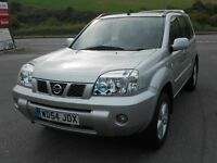 NISSAN X-TRAIL 2.5 SPORT 4WD, ONLY 32'000 MILES! 1 OWNER, FULL SERVICE HISTORY, SHOWROOM CONDITION!