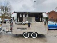 Airstream Catering Trailer Burger Van Pizza Trailer 3500x2000x2300