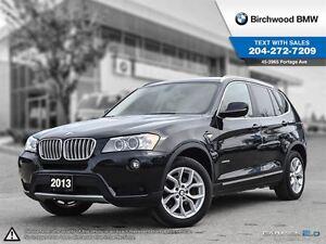 2013 BMW X3 28i Navigation! Technology & Premium Package!