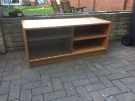 TV cabinet in beech wood for sale