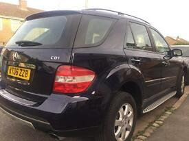 Mercedes ML 320CDi SE Auto 2006 95k miles just serviced new MOT