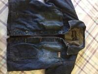 Boys timberlands denim jacket