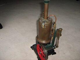 """GERBRUDER """"Bing"""" Steam Engine Circa 1914"""