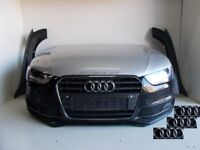 Car part: Front End Audi AUDI A4 S Line B8-8K-2012- 2015 complete front-bumpers-bumper bonnet