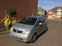 Vauxhall Meriva 1.7 cdti enjoy model 2004 reg