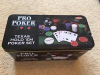 Texas Hold 'Em Pro Poker Set