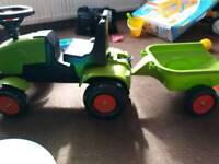 Kids tractor