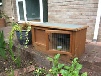 Small rabbit/guineapig hutch