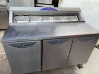 WILLIAMS PIZZA SALAD TOPPING FRIDGE CATERING COMMERCIAL SHOP BBQ