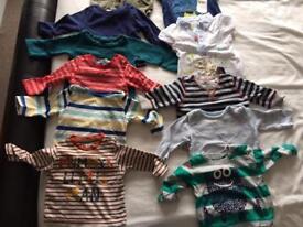 Boys top bundle (age 3-6 months)