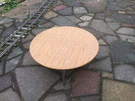 Round senator low table
