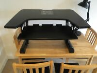 Adjustable Stand-up Desk - Black, £70 ONO *PRICE DROPPED*