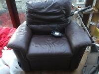 Single electric reclining chair