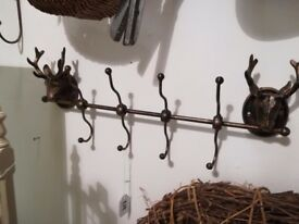 Heavy metal Stag hooks