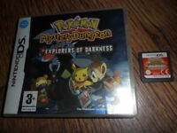 NINTENDO DS POKEMON MYSTERY DUNGEON : EXPLORERS OF DARKNESS