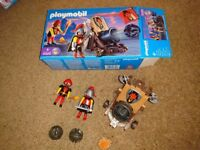 Playmobil Catapult with box