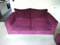 Sofas, chair and footstool