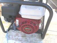 honda g x 160 5.5hp stephill 2700 watts generator