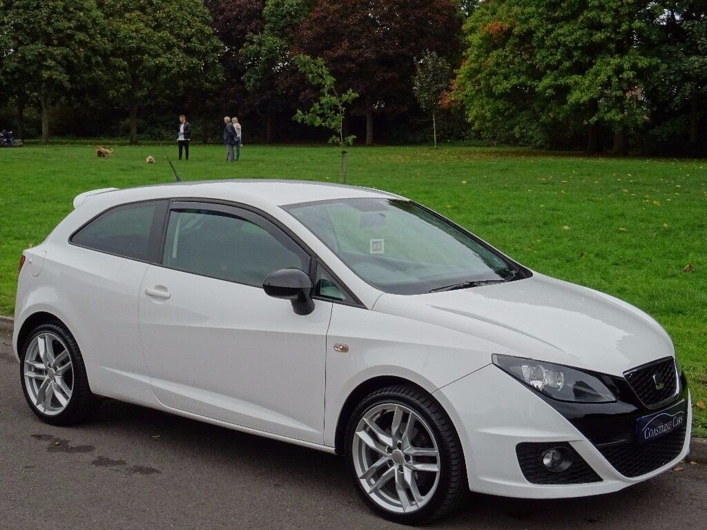 2011 seat ibiza 2 0 tdi cr fr sportcoupe 3dr candy white. Black Bedroom Furniture Sets. Home Design Ideas