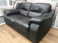 Leather 2 seater settee FREE