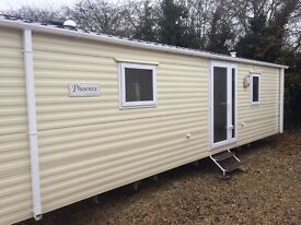 brand new double glazed caravan for sale, 3 year site fee deal